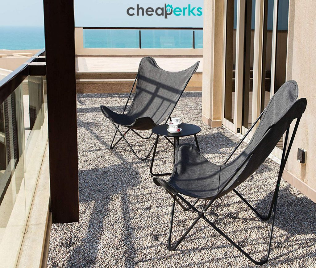 Beautiful Buuterfly Chairs in Balcony