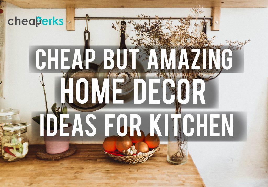 cheap kitchen decor ideas