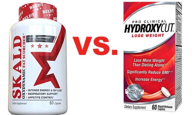 Skald VS Hydroxycut