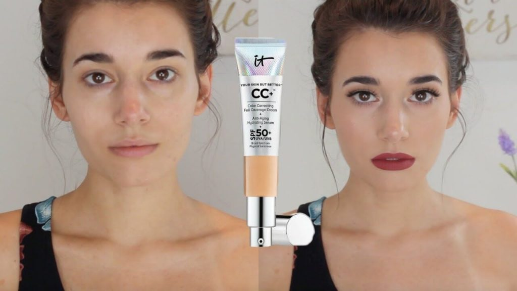 before after it cosmetics cc cream