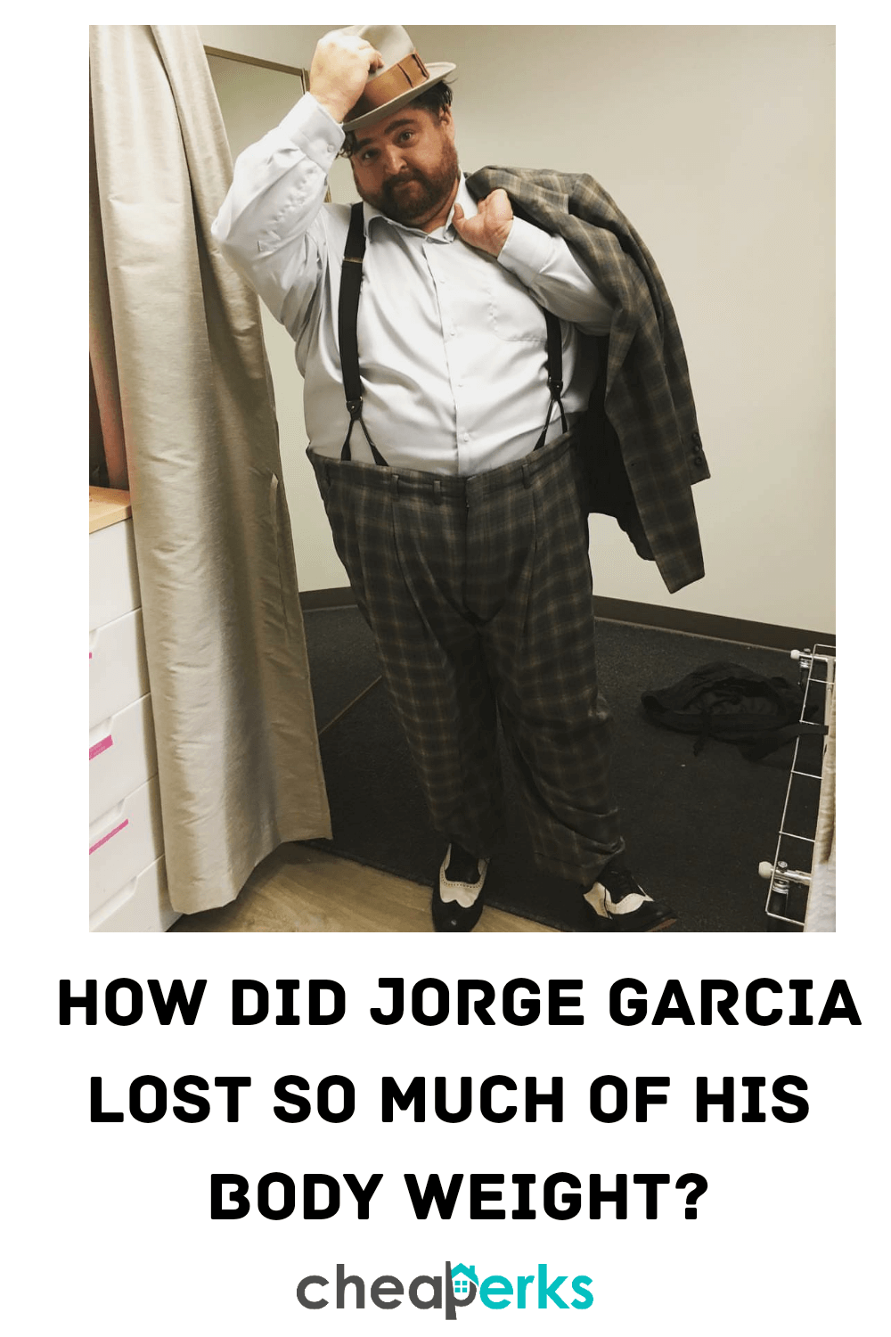 How Did Jorge Garcia Lost Weight
