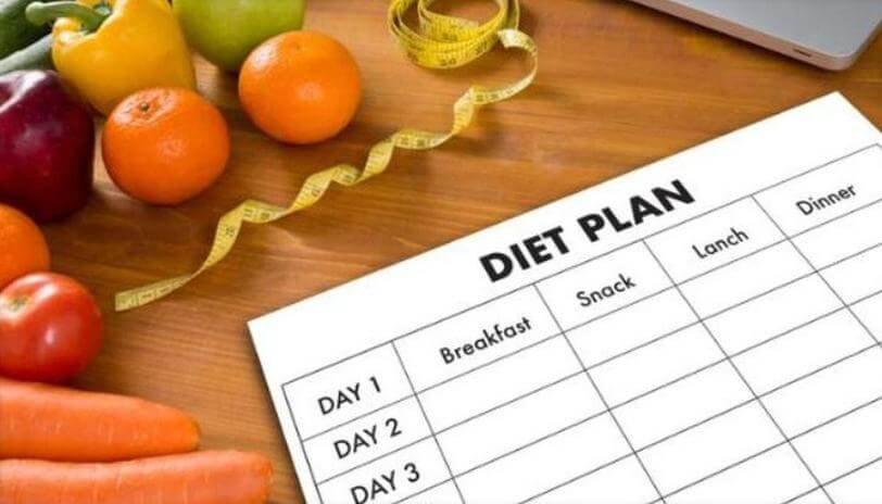 follow a diet plan to lose 30 pounds in 30 days
