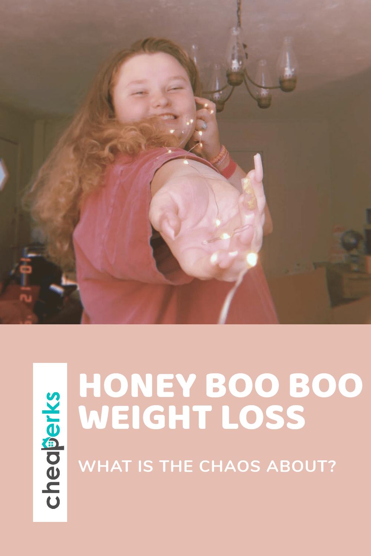 honey boo boo weight loss