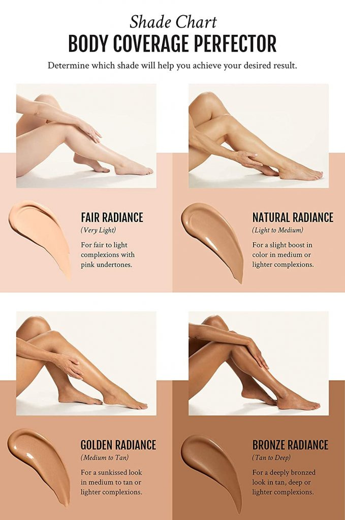 body coverage perfector shades