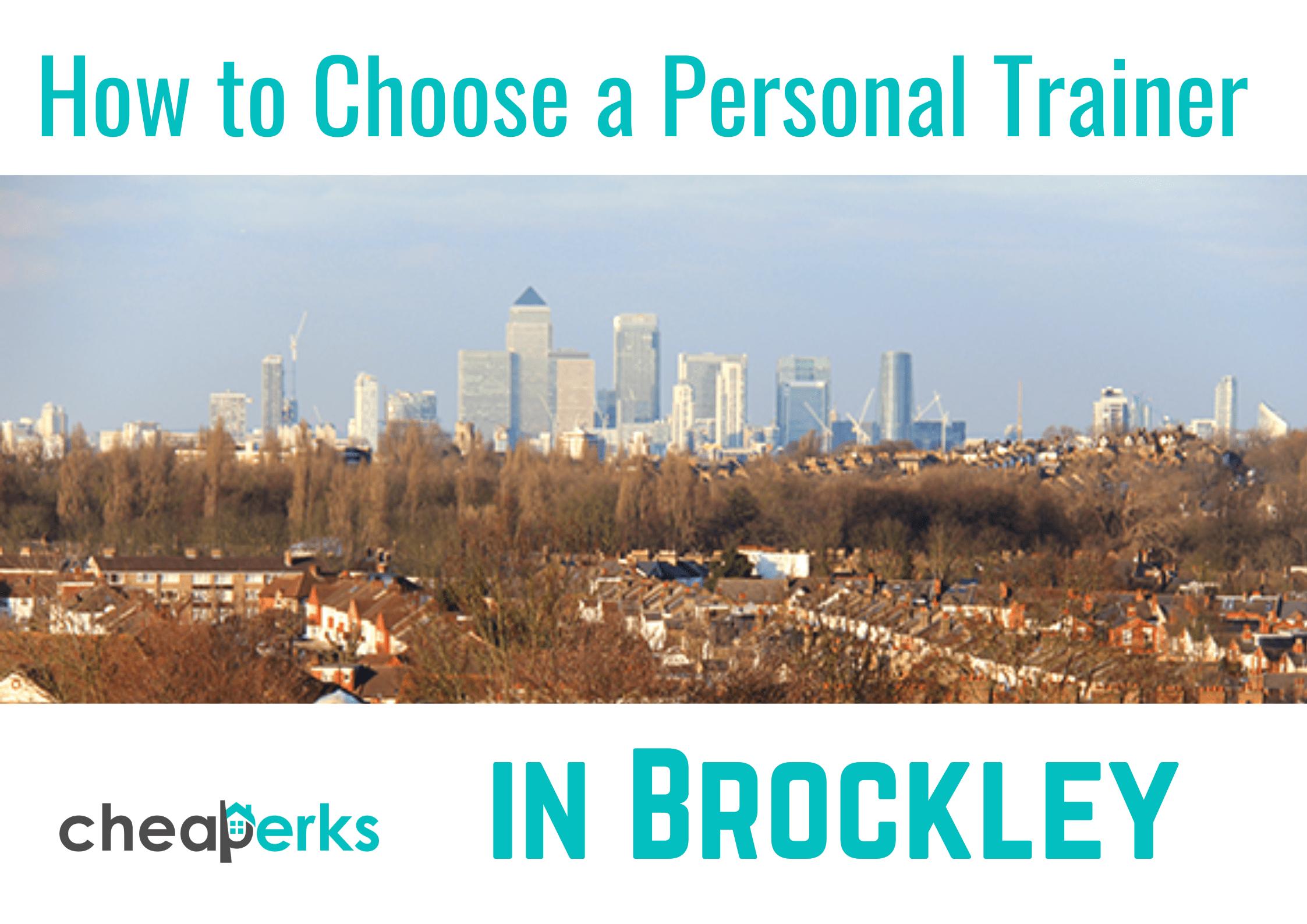choosing a personal trainer in Brockley