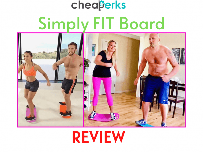Simply FIT Board Reviews
