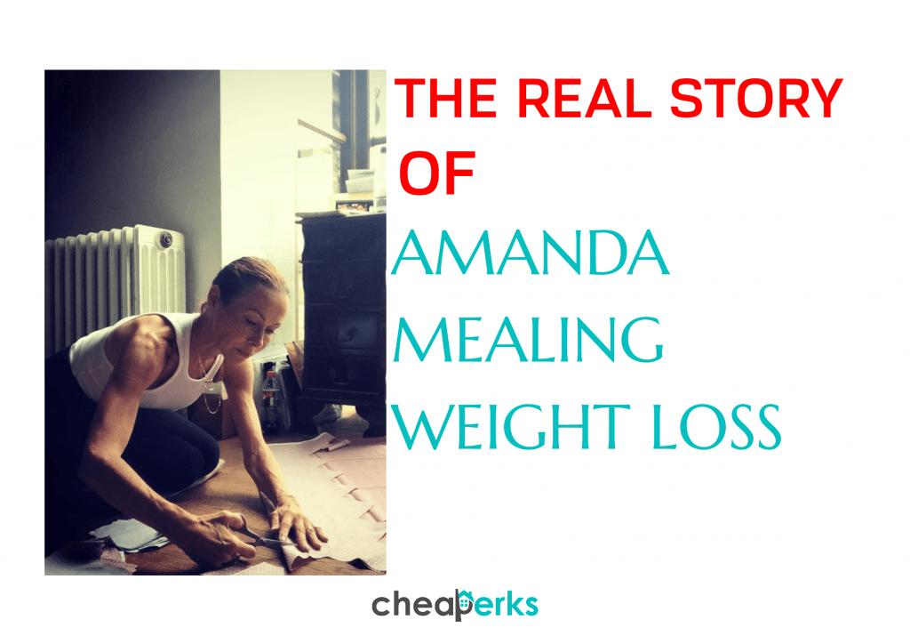 amanda mealing weight loss