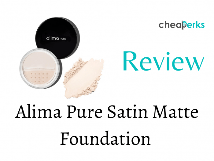 Alima Pure Satin Matte Foundation Review