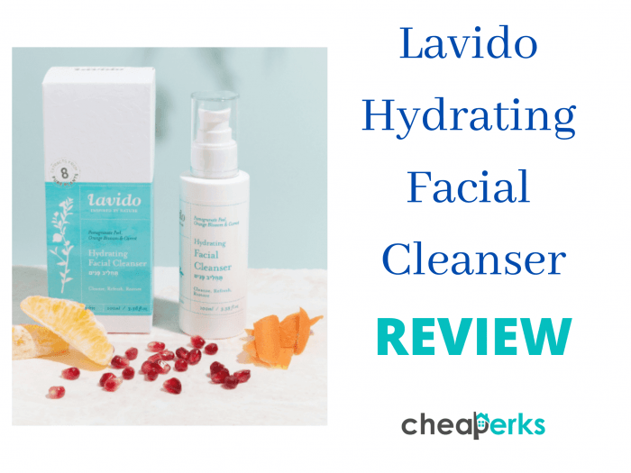 lavido hydrating facial cleanser review
