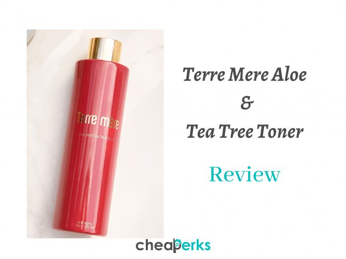 terre mere aloe and tea tree toner review