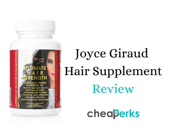 Joyce Giraud Hair Supplements Reviews