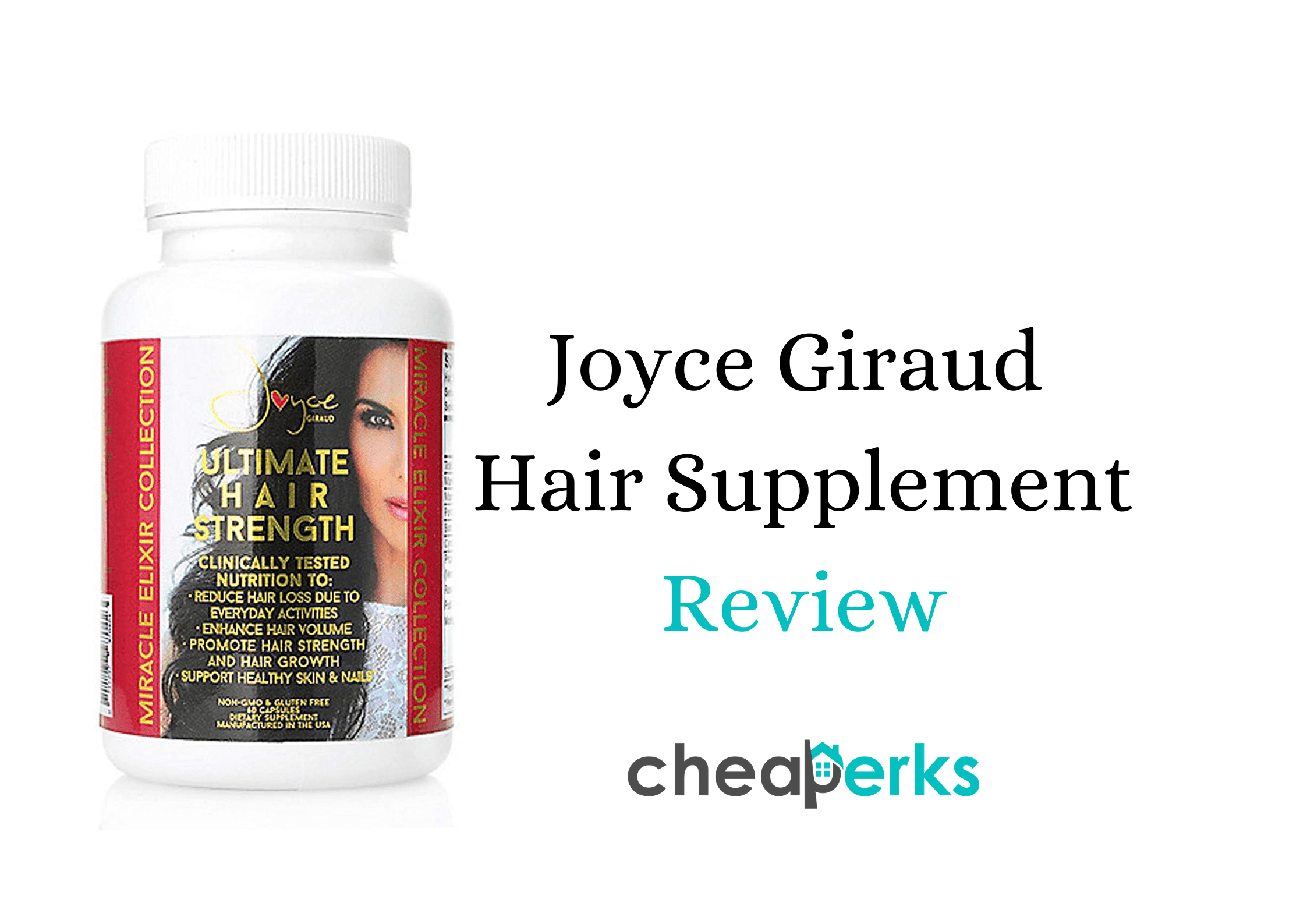 Joyce Giraud Hair Supplements Reviews