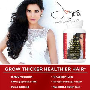 ingredients of Joyce Giraud Hair Supplements