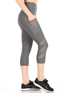 shosho grey squat proof leggings