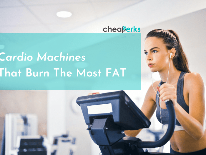 Cardio Machines That Burn The Most Fat