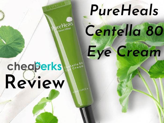 Pureheals centella 80 eye cream review
