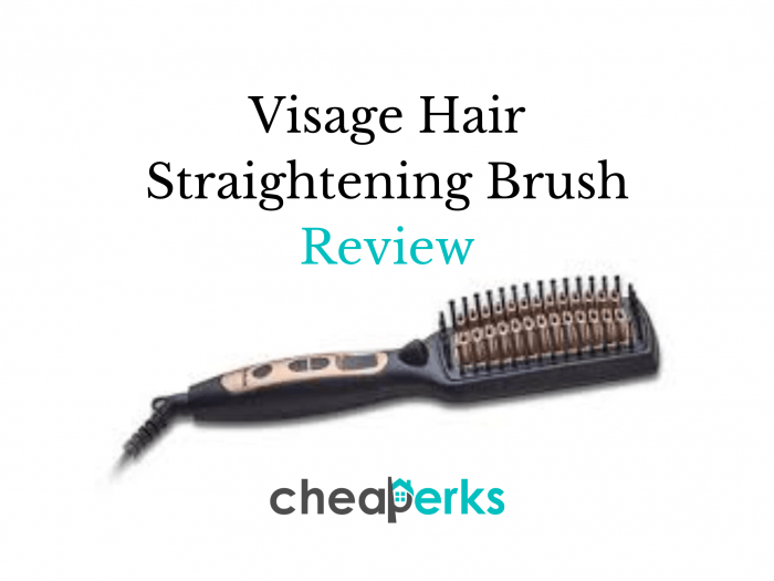 Visage Hair Straightening Brush Review