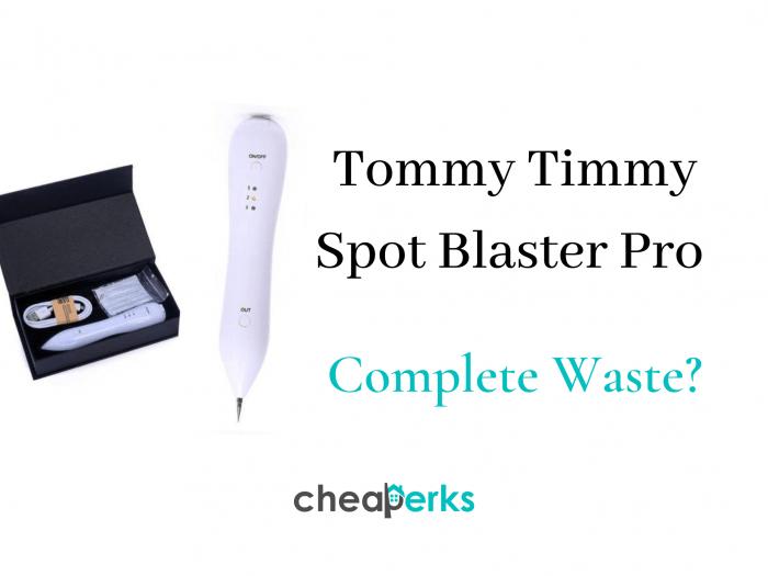 Tommy Timmy Spot Blaster Pro reviews