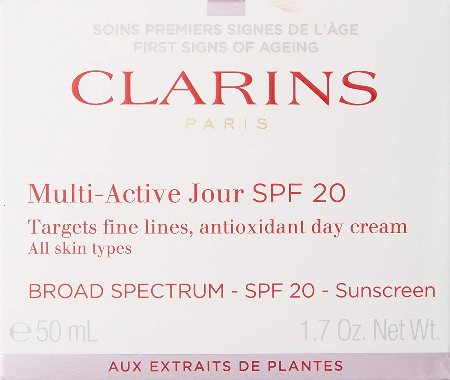 clarins skin tightening cream for all skin types