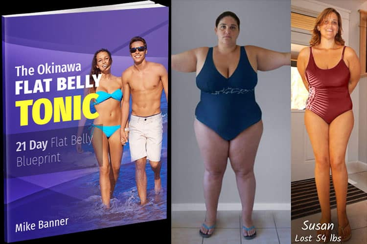 how susan lost 54lbs in 21 days