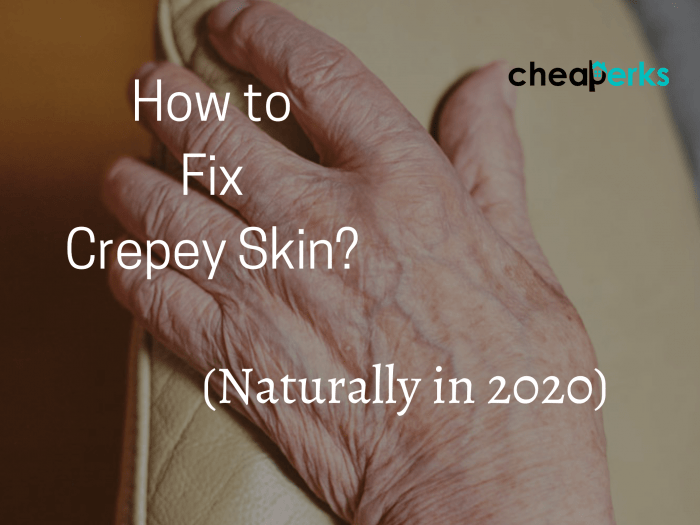 How to Fix Crepey Skin