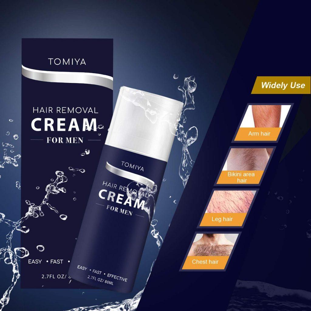 Hair Removal - Tomiya Premium Men's Hair Removal Cream