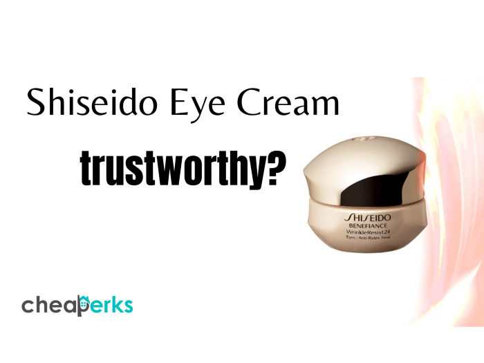 Shiseido Eye Cream reviews